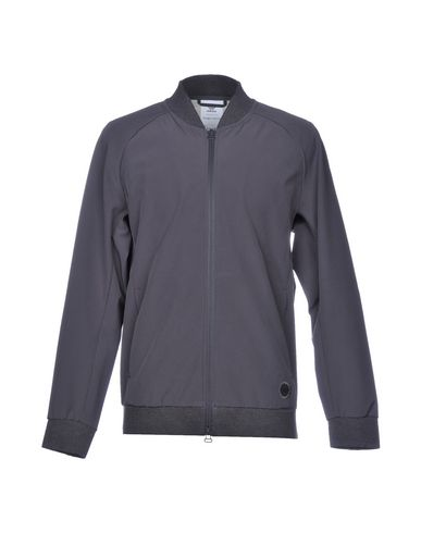 Wings + Horns x adidas | Свинцово-серый Мужская куртка ADIDAS x WINGS+HORNS Техническая ткань | Clouty