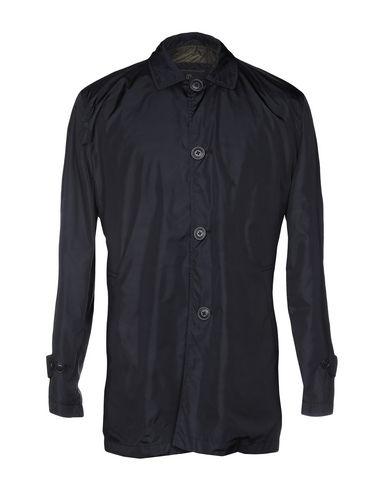 Adhoc | Темно-синий Мужское темно-синее легкое пальто ADHOC техническая ткань | Clouty