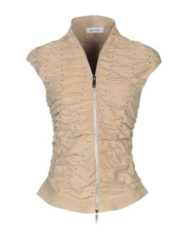 Jitrois | Женский песочный пиджак JITROIS кожа | Clouty