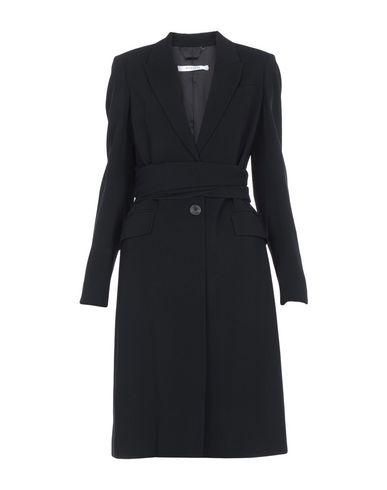 GIVENCHY | Черный Женское черное пальто GIVENCHY креп | Clouty