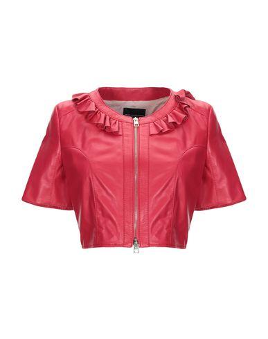 Atos Lombardini   Красный; Черный Женский красный пиджак ATOS LOMBARDINI кожа   Clouty