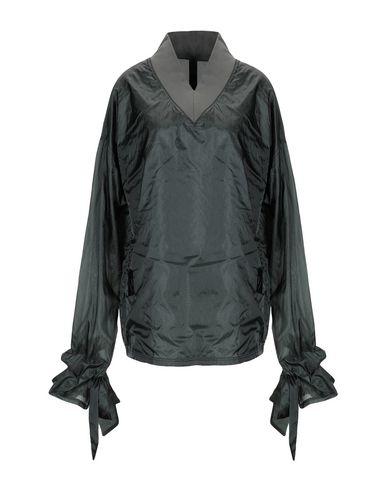 Odeur | Темно-зеленый Женская темно-зеленая блузка ODEUR техническая ткань | Clouty