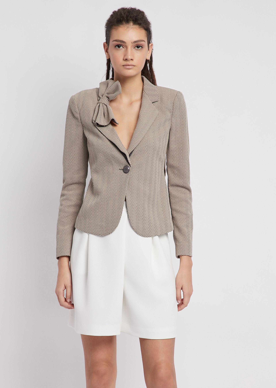 Emporio Armani | WOMAN_Пиджаки_Модные пиджаки | Clouty