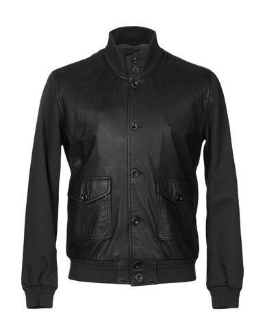 PROLEATHER | Темно-коричневый Мужская темно-коричневая куртка PROLEATHER габардин | Clouty