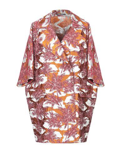 Tagliatore 0205   Ржаво-коричневый; Бирюзовый Женское легкое пальто TAGLIATORE 02-05 парча   Clouty