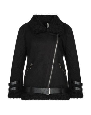 Souvenir   Черный Женская черная куртка SOUVENIR химическое волокно   Clouty
