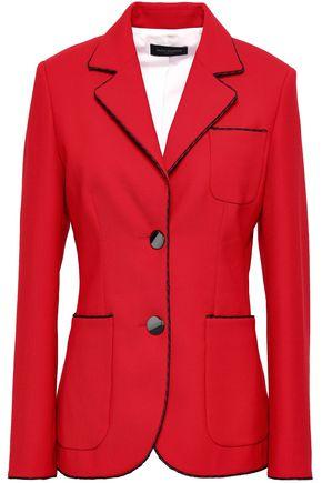 Piazza Sempione   Piazza Sempione Woman Woven Blazer Red   Clouty