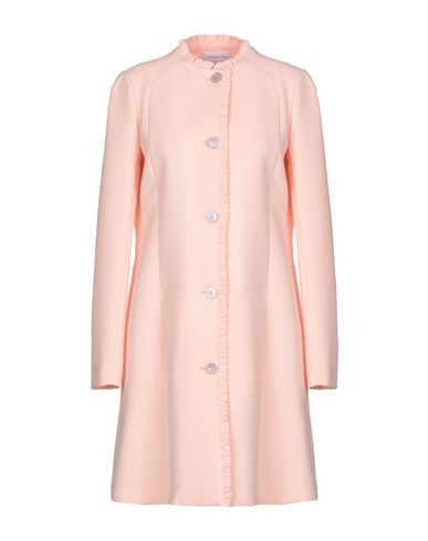 Patrizia Pepe | Светло-розовый Женское светло-розовое легкое пальто PATRIZIA PEPE креп | Clouty