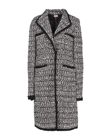 Giamba | Черный Женское черное пальто GIAMBA твид | Clouty
