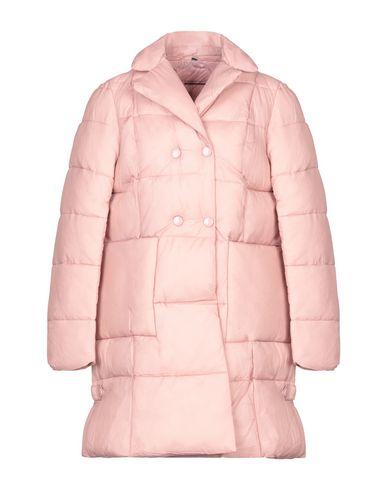 Biancoghiaccio | Женский розовый пуховик с синт наполнителем BIANCOGHIACCIO техническая ткань | Clouty