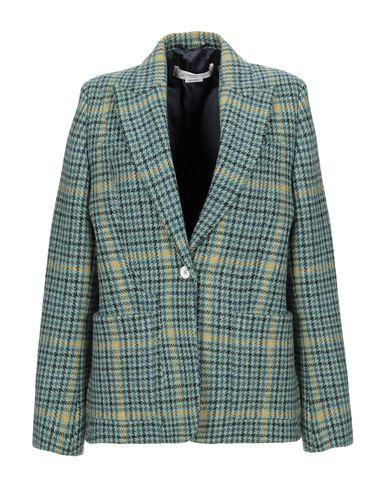 Golden Goose Deluxe Brand | Женский зеленый пиджак GOLDEN GOOSE DELUXE BRAND фланель | Clouty