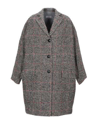 Alberto Biani | Светло-серый Женское светло-серое пальто ALBERTO BIANI букле | Clouty