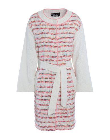 Boutique Moschino | Белый Женское белое легкое пальто BOUTIQUE MOSCHINO плотная ткань | Clouty