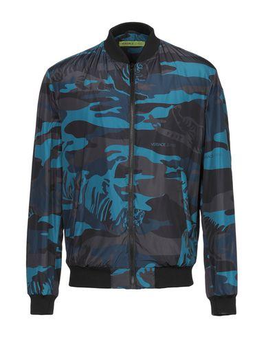 Versace Jeans   Цвет морской волны Мужская куртка VERSACE JEANS техническая ткань   Clouty