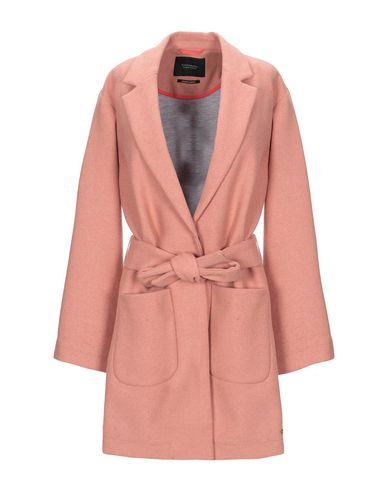 Maison Scotch | Лососево-розовый Женское пальто MAISON SCOTCH фланель | Clouty