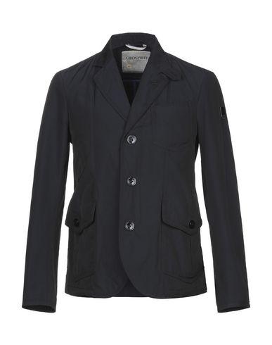 Geospirit | Темно-синий Мужская темно-синяя куртка GEOSPIRIT техническая ткань | Clouty