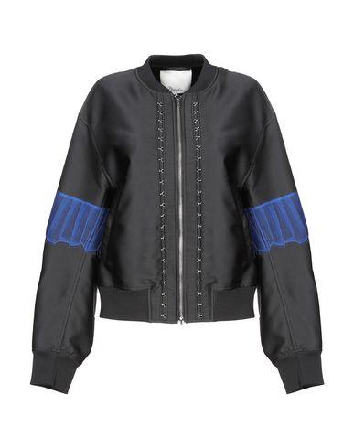 3.1 Phillip Lim | Черный Женская черная куртка 3.1 PHILLIP LIM одноцветное изделие | Clouty