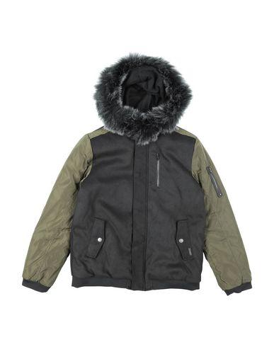Guess | Черный Детская черная куртка GUESS техническая ткань | Clouty