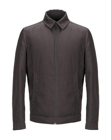 Pal Zileri   Темно-коричневый Мужская темно-коричневая куртка LAB. PAL ZILERI техническая ткань   Clouty
