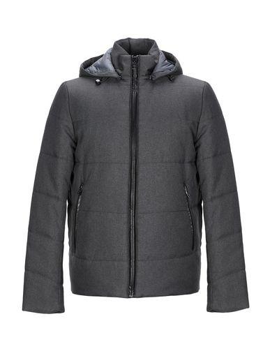 Pal Zileri   Стальной серый; Темно-синий Мужская куртка LAB. PAL ZILERI искусственная кожа   Clouty