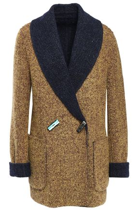 Missoni | Missoni Woman Reversible Double-breasted Wool-blend Boucle-knit Jacket Mustard | Clouty