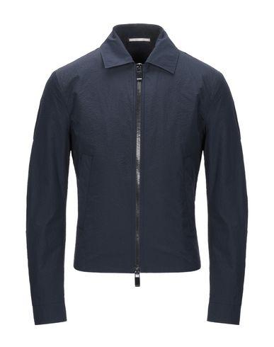Pal Zileri   Темно-синий Мужская темно-синяя куртка PAL ZILERI техническая ткань   Clouty