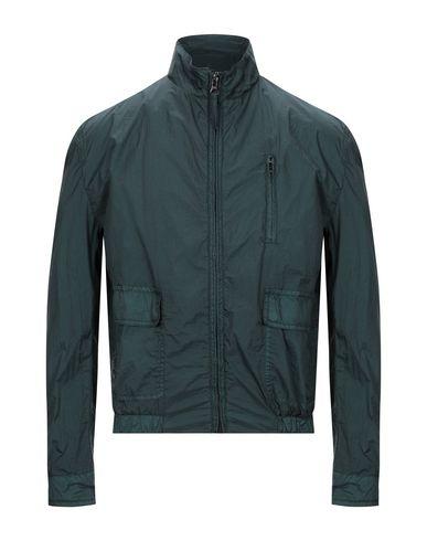 Pal Zileri | Темно-зеленый Мужская темно-зеленая куртка LAB. PAL ZILERI техническая ткань | Clouty