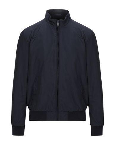 Pal Zileri | Темно-синий; Голубиный серый Мужская темно-синяя куртка LAB. PAL ZILERI техническая ткань | Clouty