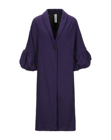 Empathie   Фиолетовый Женское фиолетовое пальто EMPATHIE флис   Clouty