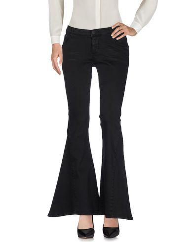 One X OneTeaspoon | Черный Женские черные повседневные брюки ONE x ONETEASPOON плотная ткань | Clouty