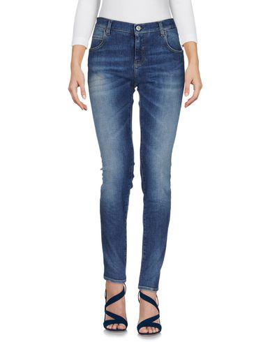 2W2M | Синий Женские синие джинсовые брюки 2W2M деним | Clouty
