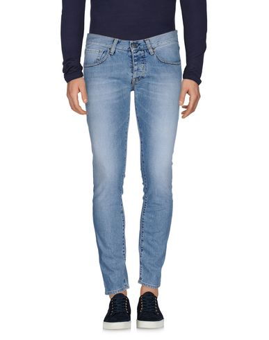 2W2M | Синий Мужские синие джинсовые брюки 2W2M деним | Clouty