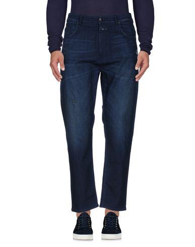 Closed | Синий Мужские синие джинсовые брюки CLOSED деним | Clouty