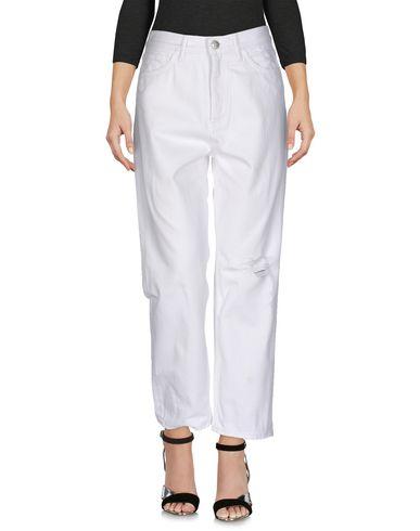 M.I.H Jeans | Белый Женские белые джинсовые брюки M.I.H JEANS деним | Clouty