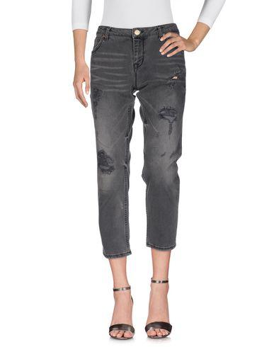 Silvian Heach | Черный Женские черные джинсовые брюки SILVIAN HEACH деним | Clouty