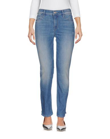 Mother | Синий Женские синие джинсовые брюки MOTHER Классический цвет | Clouty