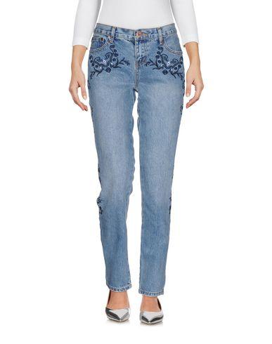 One X OneTeaspoon | Синий Женские синие джинсовые брюки ONE x ONETEASPOON деним | Clouty