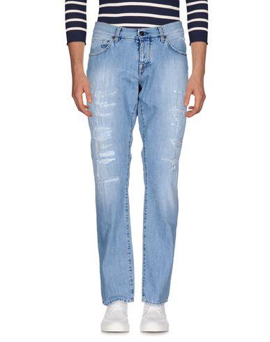 2W2M | Синий Джинсовые брюки | Clouty