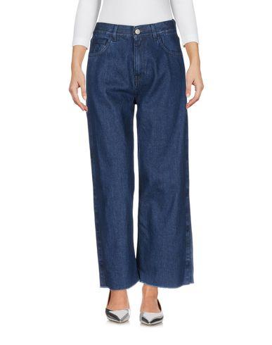 Haikure   Синий Женские синие джинсовые брюки HAIKURE тёмный деним   Clouty