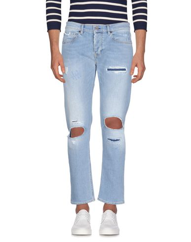 Pence | Синий Мужские синие джинсовые брюки PENCE светлый деним | Clouty