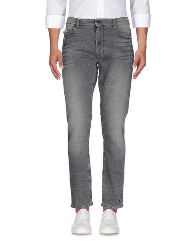Pence | Черный Мужские черные джинсовые брюки PENCE деним | Clouty
