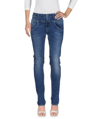 Daniele Alessandrini | Синий Женские синие джинсовые брюки DANIELE ALESSANDRINI деним | Clouty
