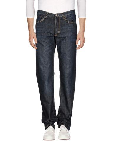 Henry Cotton'S | Синий Мужские синие джинсовые брюки HENRY COTTON'S тёмный деним | Clouty