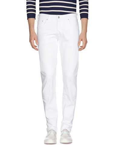 Brian Dales | Белый Мужские белые джинсовые брюки BRIAN DALES & LTB деним | Clouty