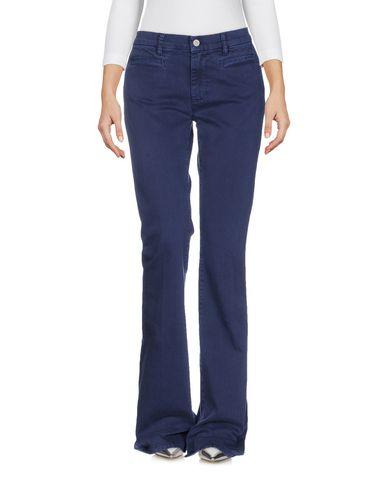 M.I.H Jeans | Темно-синий Женские темно-синие джинсовые брюки M.I.H JEANS деним | Clouty