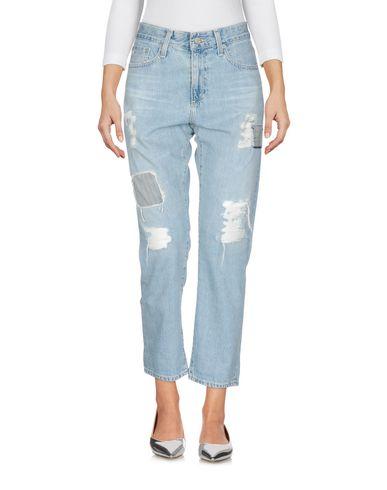 AG Jeans | Синий Женские синие джинсовые брюки AG JEANS деним | Clouty