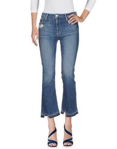 Frame | Синий Женские синие джинсовые брюки FRAME Деним | Clouty