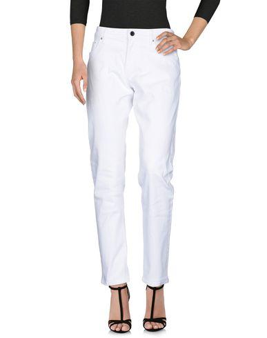 Victoria Beckham | Белый Женские белые джинсовые брюки VICTORIA BECKHAM деним | Clouty