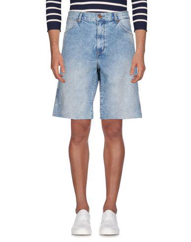 Wrangler   Синий Мужские синие джинсовые бермуды WRANGLER деним   Clouty