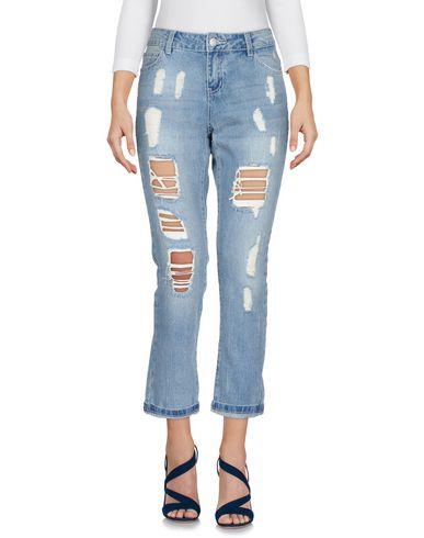 Noisy May | Синий Женские синие джинсовые брюки капри NOISY MAY Деним | Clouty
